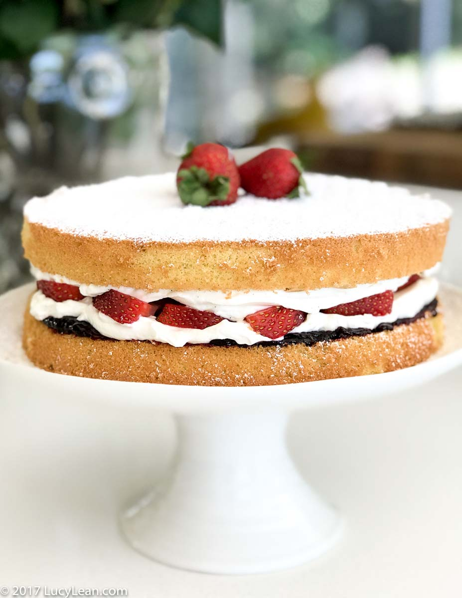 Victoria Sponge Cake - Yotam Ottolenghi SWEET